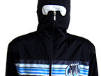 Trainingsjacke als Ninja